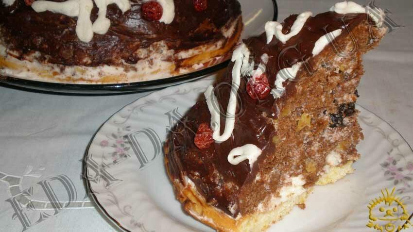 рецепт торта кучерявый пинчер пошагово с фото