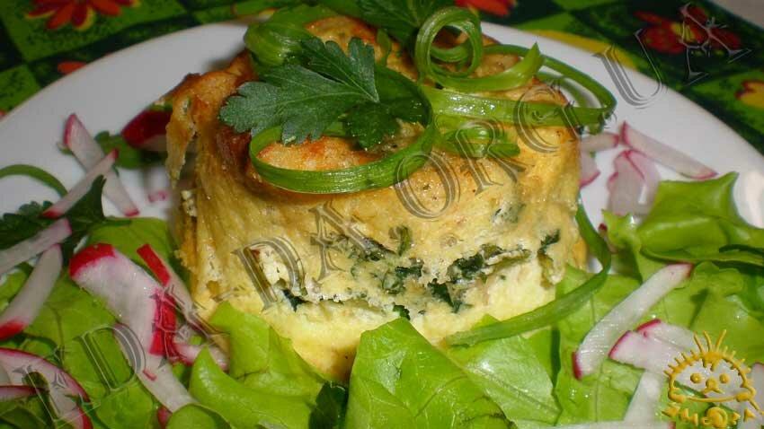 Блюда из овощей в духовке с мясом и