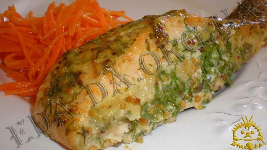 рецепты вторых блюд из рыбы в духовке #9