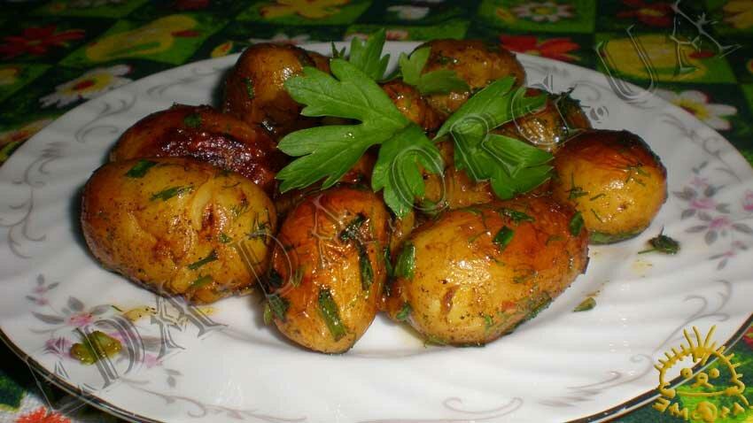 Кулинарный рецепт из молодой картошки