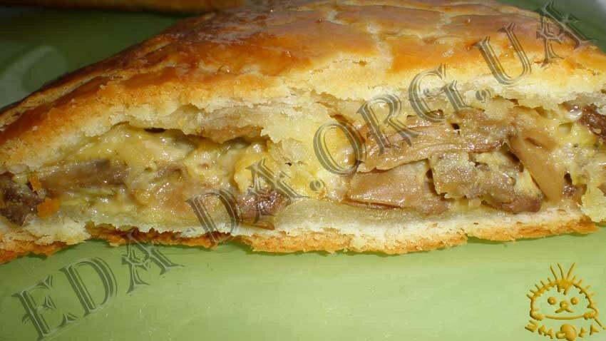 пироги с грибами рецепты с фото