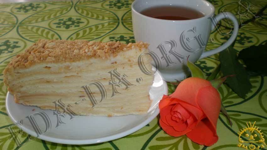 Торт наполеон 2