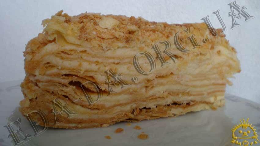 Кулинарный фото рецепт торт наполеон