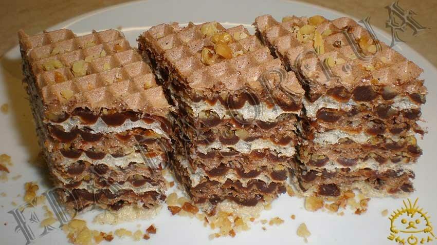 Вафельные торты в домашних условиях 976