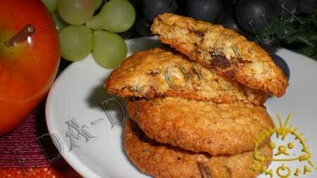 Кулинарные рецепты блюд с фото - Овсяное печенье. Нажать для увеличения.