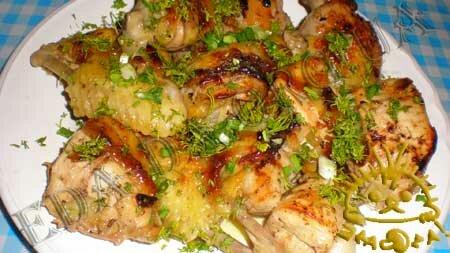 Кулинарные рецепты блюд с фото - Курица в маринаде с изюмом, запеченная в рукаве, пошаговое фото 12