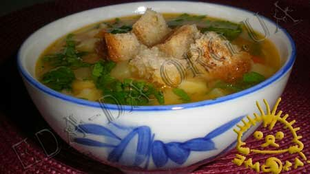 Кулинарные рецепты блюд с фото - Постный гороховый суп, Фото 11
