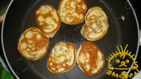 Кулинарные рецепты блюд с фото - Закусочные оладьи с семгой, Фото 8