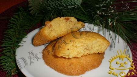 Кулинарные рецепты блюд с фото - Печенье Ванильное с орехами. Нажать для увеличения.