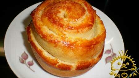 Кулинарный мастер класс - Плюшки - ватрушки. Нажать для увеличения фотографии.