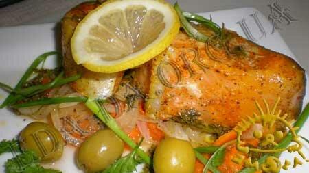 Кулинарный мастер класс - Форель, запеченная в духовке. Нажать для увеличения.