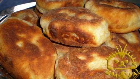 Кулинарный мастер класс - Пирожки на кефире. Нажать для увеличения фотографии.