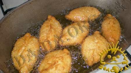 Кулинарные рецепты блюд с фото - Жареные пирожки с ливером, Фото 8