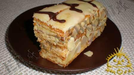 Кулинарные рецепты блюд с фото - Торт Эстерхази. Нажать для увеличения.