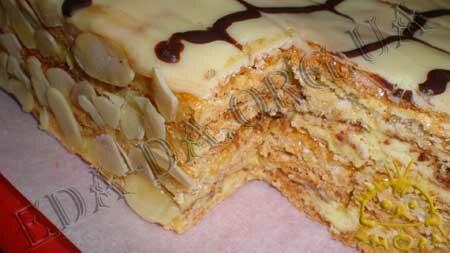Кулинарные рецепты блюд с фото - Торт Эстерхази, пошаговое фото 25