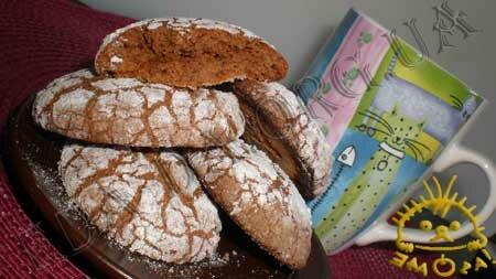 Кулинарные рецепты блюд с фото - Шоколадные пряники. Нажать для увеличения.
