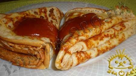 Кулинарные рецепты блюд с фото - Дрожжевые блины, пошаговое фото 13