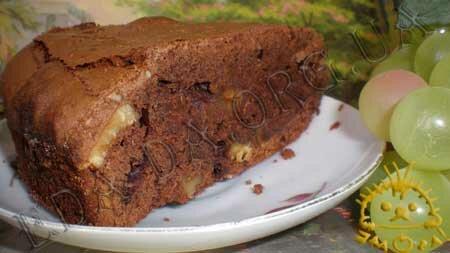 Кулинарные рецепты блюд с фото - Пирожное Брауниз, пошаговое фото 16