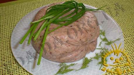 Кулинарные рецепты блюд с фото - Зельц, пошаговое фото 8