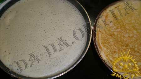 Кулинарные рецепты блюд с фото - Блины Заварные на кефире с творогом, Фото 10
