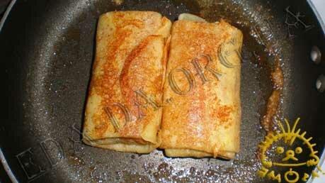 Кулинарные рецепты блюд с фото - Блины с яблочной начинкой, пошаговое фото 13