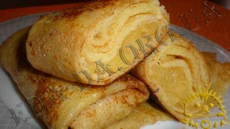 Кулинарные рецепты блюд с фото - Блины с яблочной начинкой, пошаговое фото 14