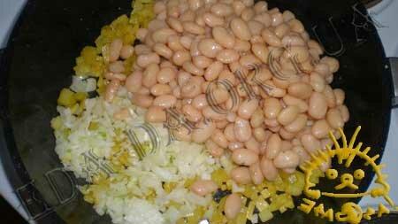 Кулинарные рецепты блюд с фото - Постное овощное рагу с белой фасолью, пошаговое фото 3