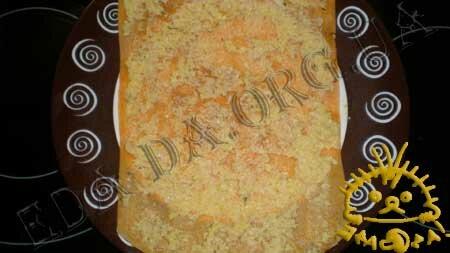 Кулинарные рецепты блюд с фото - Закусочные томатные блинчики с печенью трески, пошаговое фото 13
