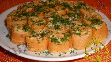 Кулинарные рецепты блюд с фото - Закусочные томатные блинчики с печенью трески, пошаговое фото 16