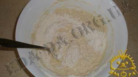 Кулинарные рецепты блюд с фото - Постный пирог с вареньем и грецкими орехами, пошаговое фото 6