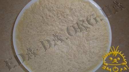 Кулинарные рецепты блюд с фото - Постный пирог с вареньем и грецкими орехами, пошаговое фото 8