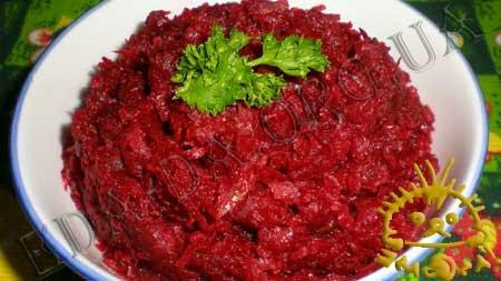 Кулинарные рецепты блюд с фото - Постная свекольная икра, пошаговое фото 6