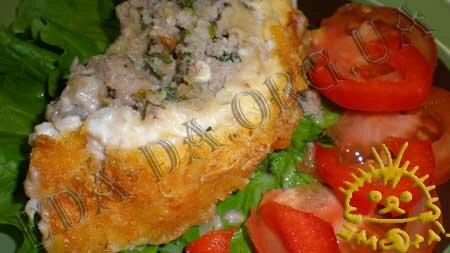 Кулинарный мастер класс - Мясная запеканка под майонезно-сырной корочкой, шаг 5