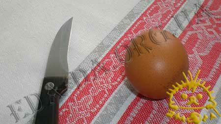 Пошаговый урок с фотографиями - Как выдуть яйцо, пошаговое фото 1