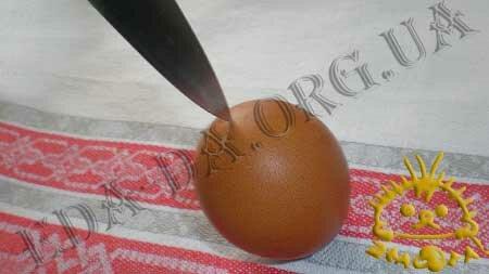 Кулинарные рецепты блюд с фото - Как выдуть яйцо, пошаговое фото 2