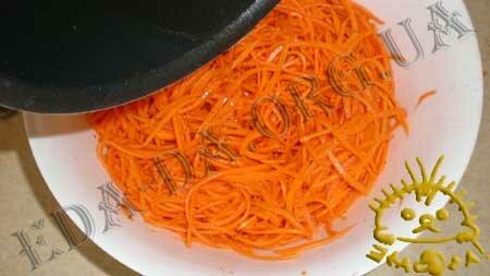 Кулинарные рецепты блюд с фото - Морковь по-корейски, пошаговое фото 6