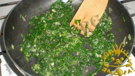 Кулинарные рецепты блюд с фото - Вареники со шпинатом и курицей, пошаговое фото 3