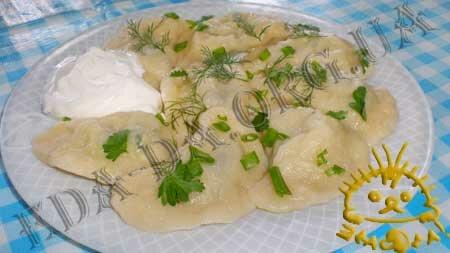 Кулинарные рецепты блюд с фото - Вареники со шпинатом и курицей, пошаговое фото 18