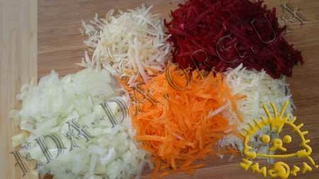 Кулинарные рецепты блюд с фото - Зеленый борщ со щавелем, пошаговое фото 3