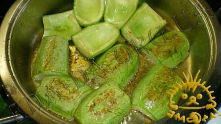 Кулинарный мастер класс - Кабачки, фаршированные рисом и овощами, шаг 2