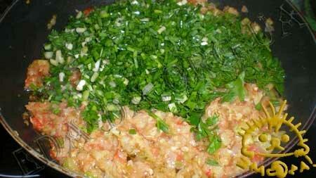 Кулинарный мастер класс - Кабачки, фаршированные рисом и овощами, шаг 7