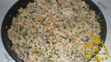 Кулинарный мастер класс - Кабачки, фаршированные рисом и овощами, шаг 8