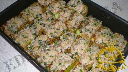 Кулинарный мастер класс - Кабачки, фаршированные рисом и овощами, шаг 10