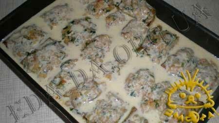 Кулинарный мастер класс - Кабачки, фаршированные рисом и овощами, шаг 11