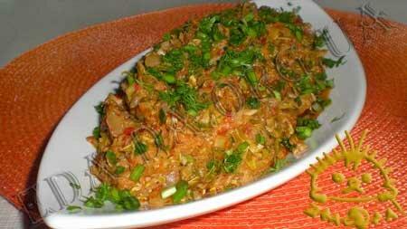 Кулинарные рецепты блюд с фото - Кабачковая икра. Нажать для увеличения.
