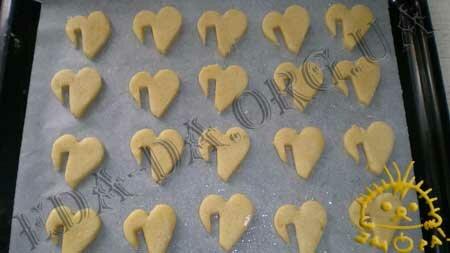 Кулинарные рецепты блюд с фото - Песочное печенье, пошаговое фото 8
