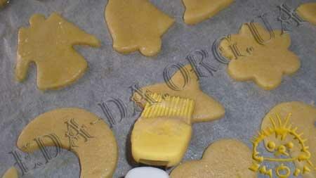 Кулинарные рецепты блюд с фото - Новогоднее песочное печенье, пошаговое фото 9