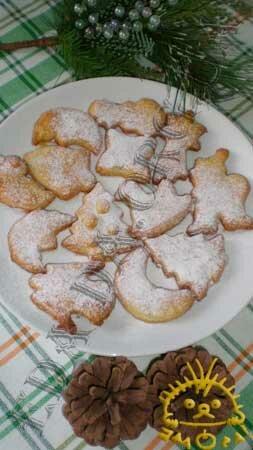 Кулинарные рецепты блюд с фото - Новогоднее песочное печенье, пошаговое фото 10