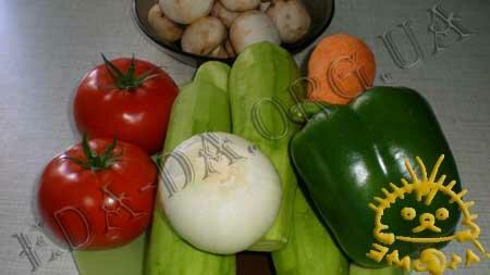 Кулинарный мастер класс - Кабачковая икра с грибами. Состав рецепта.