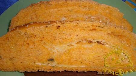 Томатный хлеб с сыром